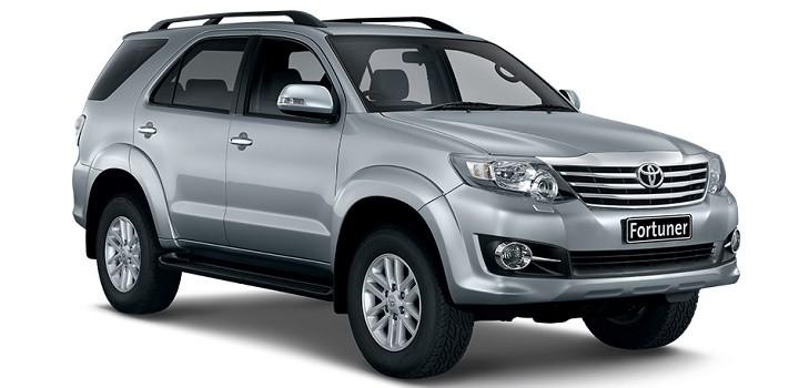 Cho thuê xe tháng 7 chỗ Toyota Fortuner