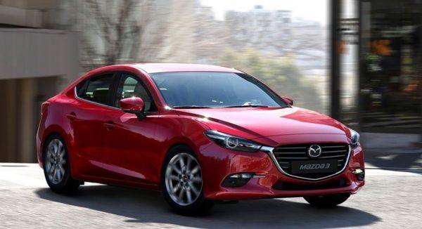 Cho thuê xe tự lái 4 chỗ Mazda 3