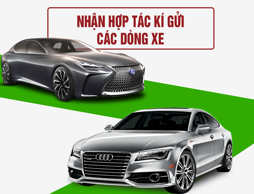Nhận hợp tác ký gửi các dòng xe